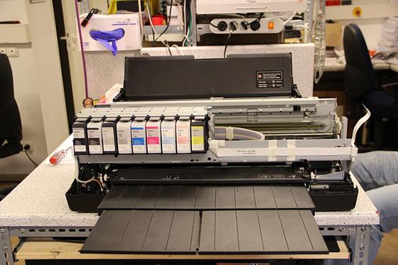 Impresora con tóner compatible.