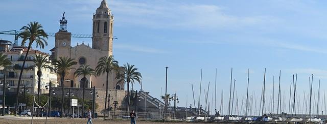 Puerto de Sitges.