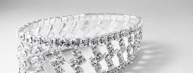 Brazalete de diamantes.