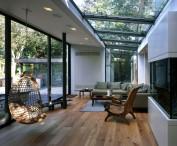 Chalet con terrazas acristaladas, una nueva tendencia